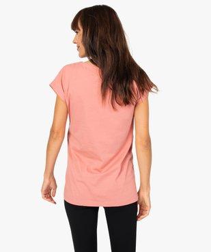 Tee-shirt de grossesse loose à manches courtes - Disney vue3 - DISNEY DTR - GEMO