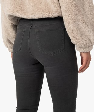 Pantalon femme coupe Slim taille haute – L30 vue5 - GEMO(FEMME PAP) - GEMO
