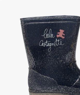 Bottes de pluie fille pailletées – LuluCastagnette vue6 - LULU CASTAGNETT - Nikesneakers