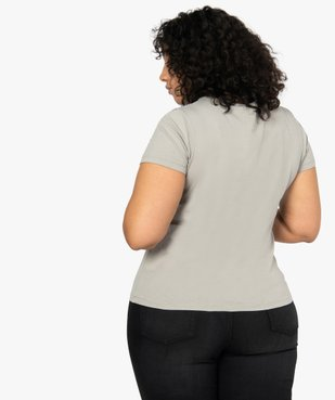 Tee-shirt femme à manches courtes imprimé - Disney vue3 - DISNEY DTR - Nikesneakers