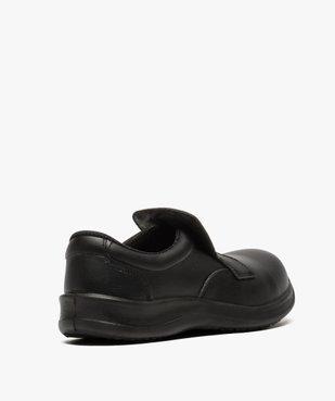 Chaussures de sécurité homme S2 forme mocassin vue4 - GEMO (SECURITE) - GEMO