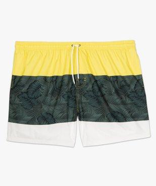 Short de bain homme tricolore vue4 - Nikesneakers (PLAGE) - Nikesneakers