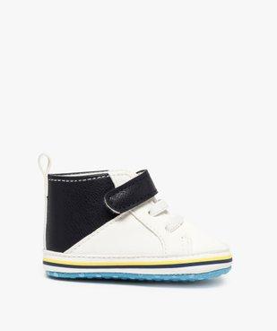 Chaussons de naissance garçon style baskets vue1 - Nikesneakers(BB COUCHE) - Nikesneakers