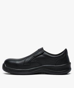 Chaussures professionnelles femme mocassin sécurité S2 vue3 - GEMO (SECURITE) - GEMO
