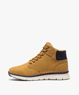 Boots garçon à col rembourré et lacets bicolores vue3 - Nikesneakers (ENFANT) - Nikesneakers
