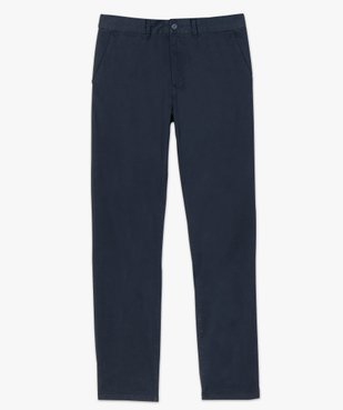 Pantalon chino homme coupe regular vue4 - GEMO (HOMME) - GEMO