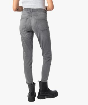 Jean de grossesse slim délavé à bandeau stretch taille haute vue3 - Nikesneakers (MATER) - Nikesneakers