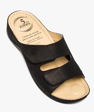 Sandale à brides avec points de réflexologie - 5 zones vue5 - 5 REFLEX ZONES - GEMO