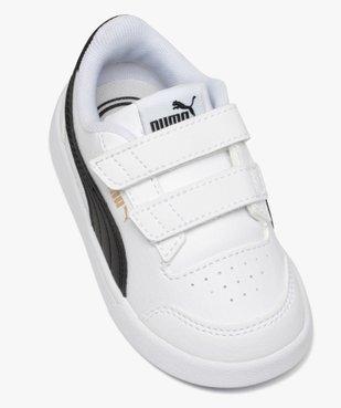 Baskets bébé garçon bicolores à scratch - Puma vue5 - PUMA - GEMO