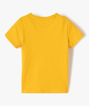 Tee-shirt garçon imprimé à manches courtes – Camps United vue4 - CAMPS UNITED - GEMO