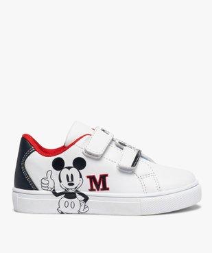 Tennis enfant à scratch imprimées Mickey vue1 - MICKEY - GEMO
