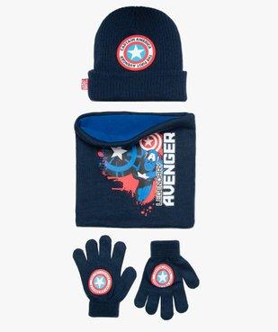 Ensemble garçon 3 pièces : gants, bonnet et snood - Avengers vue1 - AVENGERS - GEMO