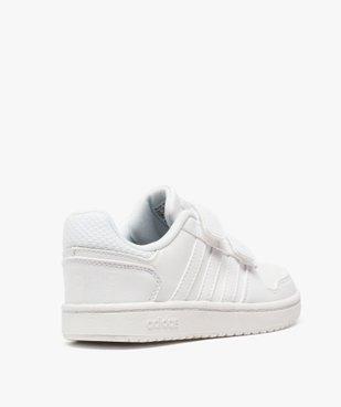 Basket enfants à scratchs Hoops 2.0 - Adidas vue4 - ADIDAS - GEMO
