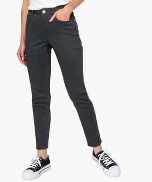 Pantalon femme coupe slim - Longueur L26 vue1 - GEMO(FEMME PAP) - GEMO