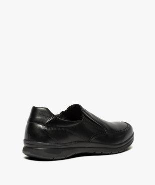 Mocassins homme confort unis à enfiler vue4 - ZEN AIR - Nikesneakers