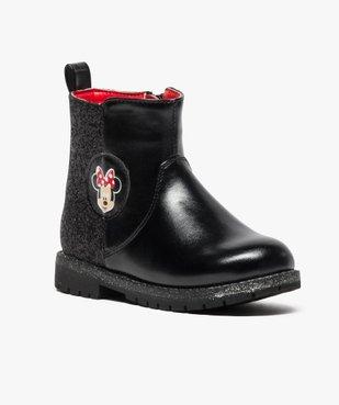 Boots pailletées avec motif Minnie - Disney vue2 - MINNIE - GEMO