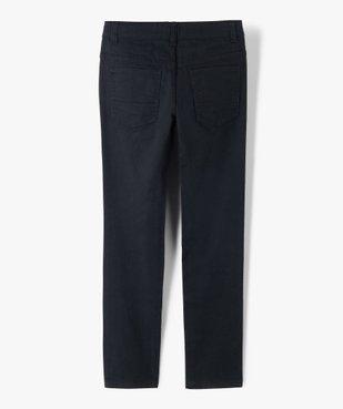 Pantalon garçon style jean slim 5 poches vue3 - GEMO (JUNIOR) - GEMO