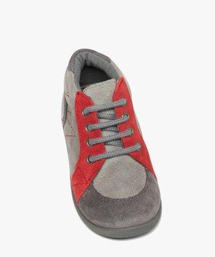 Chaussures premiers pas bébé garçon en cuir vue5 - GEMO(BEBE DEBT) - GEMO