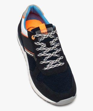 Baskets homme jogger multimatières – US Polo Assn vue5 - US POLO - GEMO