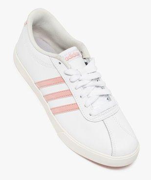 Baskets femme bicolores à lacets – Adidas Courset vue5 - ADIDAS - Nikesneakers