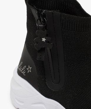 Baskets fille style chaussettes zippées – Lulu Castagnette vue6 - LULU CASTAGNETT - Nikesneakers