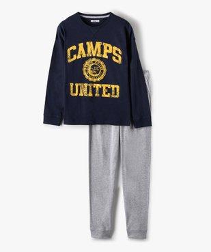 Pyjama garçon bicolore – Camps United vue1 - CAMPS UNITED - GEMO