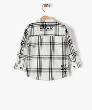 Chemise bébé garçon à col mao – Lulu Castagnette vue3 - LULUCASTAGNETTE - GEMO