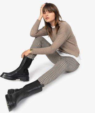 Leggings femme à motifs pied de coq vue5 - Nikesneakers(FEMME PAP) - Nikesneakers