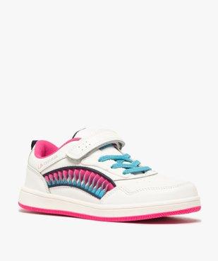 Baskets fille avec bandes colorées – LA Gear vue2 - L.A. GEAR - GEMO