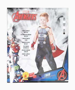 Déguisement enfant Thor - Marvel (2 pièces : costume + cape) vue4 - MARVEL - GEMO