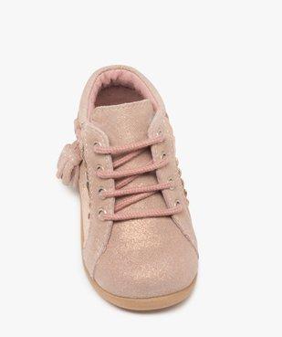 Chaussures premiers pas bébé fille irisées vue5 - Nikesneakers(BEBE DEBT) - Nikesneakers