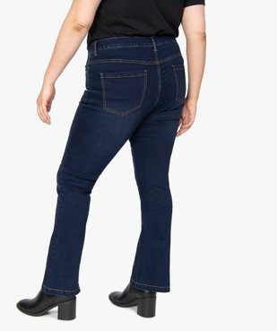Jean femme coupe bootcut vue3 - GEMO (G TAILLE) - GEMO