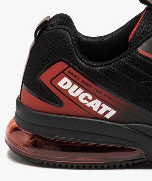 Baskets homme à bulle d'air translucide - Ducati vue6 - DUCATI - GEMO