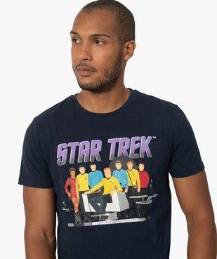 Tee-shirt homme avec motif Star Trek vue2 - STAR TREK - GEMO