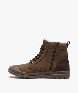 Boots garçon zippées à bout renforcé et col rembourré vue3 - Nikesneakers (ENFANT) - Nikesneakers