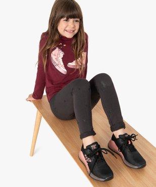 Leggings fille avec motifs pailletés vue1 - Nikesneakers C4G FILLE - Nikesneakers