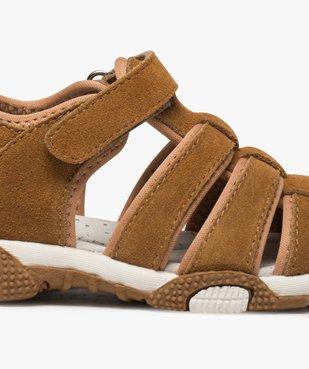 Sandales garçon unies à bout fermé vue6 - Nikesneakers (ENFANT) - Nikesneakers