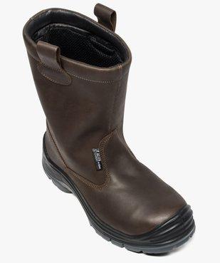 Chaussures professionnelles homme bottes de sécurité vue5 - GEMO (EQUIPT) - GEMO