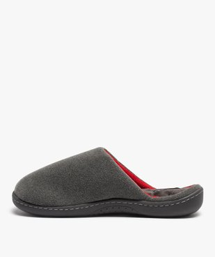 Chaussons homme forme mule - Isotoner vue3 - ISOTONER - GEMO
