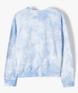 Sweat fille bicolore effet tie and dye coupe courte vue3 - Nikesneakers (JUNIOR) - Nikesneakers