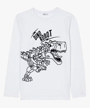 Tee-shirt garçon à manches longues avec motif dinosaure vue1 - GEMO (ENFANT) - GEMO