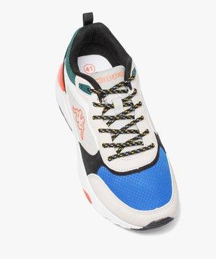 Baskets homme jogger dessus textile majoritaire - Kappa vue5 - KAPPA - GEMO