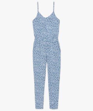 Combinaison pantalon femme à motifs fleuris vue4 - GEMO(FEMME PAP) - GEMO