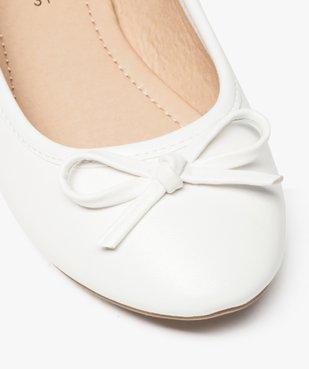 Ballerines fille unies à nœud décoratif vue6 - Nikesneakers (ENFANT) - Nikesneakers