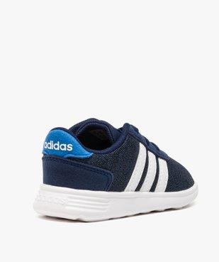 Basket bébé en toile avec double lacets - Adidas vue4 - ADIDAS - GEMO