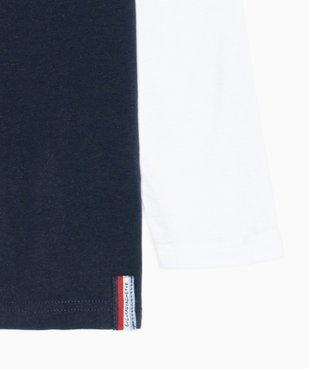 Tee-shirt garçon multicolore à manches longues – Lulu Castagnette vue3 - LULUCASTAGNETTE - GEMO