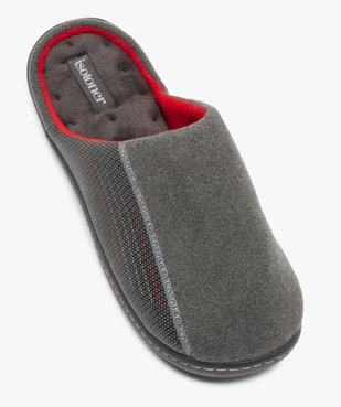 Chaussons homme forme mule - Isotoner vue5 - ISOTONER - GEMO