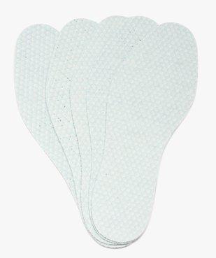 Semelles fraîcheur pour femme 5 paires - Baranne vue1 - BARANNE - GEMO