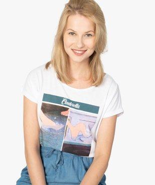 Tee-shirt femme Disney Princesses vue2 - DISNEY - GEMO