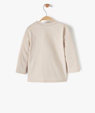 Tee-shirt bébé garçon avec motif écureuil vue3 - GEMO(BEBE DEBT) - GEMO